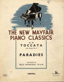 Toccata from Sonata No. 6 - No 28 of the new Mayfair Piano Classics