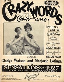 Crazy Words Crazy Tune -  Gladys Watson and Marjorie Lotinga