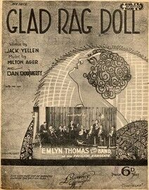 Glad Rag Doll - Featured by Emlyn Thomas at The Pavilion Ramsgate