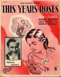 This years Roses - As performed by Ronald Chesney