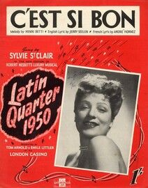 C'est Si Bon - Song from 'Latin Quarter 1950' - Featuring Sylvie St. Clair
