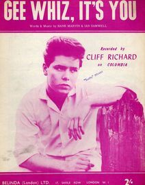 Gee Whiz, It's You - Recorded by Cliff Richard on Columbia