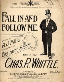 Fall In and Follow Me - Song featuring Chas. R. Whittle