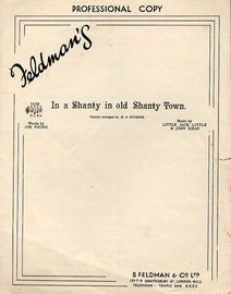 In A Shanty in Old Shanty Town - Song Waltz - Professional Copy