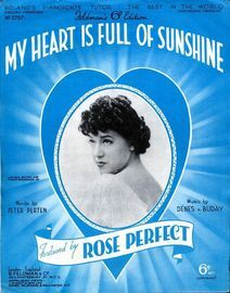 My Heart is Full of Sunshine - Featured by Rose Perfect - Feldmans 6d Edition