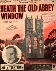 Neath The Old Abbey Window - Song Fox trot