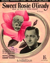 Sweet Rosie O'Grady - Featuring Betty Grable from the 20th Century film