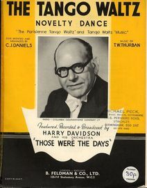 The Tango Waltz - Novelty Dance - Featuring Harry Davidson - Including Dance Step Intructions