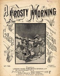 A Frosty Morning - Galop for Piano