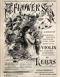A Flower Story - Musk Rose - Musical Bouquet No. 8840 - With Separate Violin Sheet