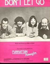 Don't let go - Featuring Manhattan Transfer