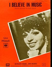 I Believe in Music - Featuring Liza Minnelli