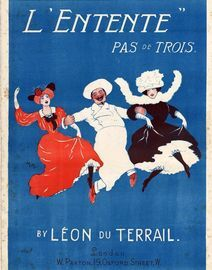 L\' Entente - Pas de Trois - For Piano Solo -  Paxton Edition No. 1364