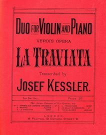 La Traviata - Duo for Violin and Piano