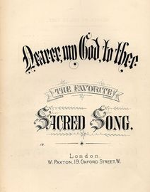 Nearer, my God, to Thee - Sacred Song
