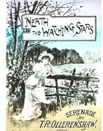 Neath the Watching Stars  - Serenade for Piano and Voice - Paxton Edition No. 1025
