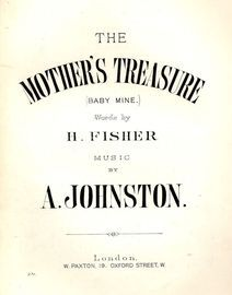 The Mother's Treasure (Baby Mine) - Paxton edition No. 271