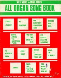 All Organ Song Book - With words and chord names