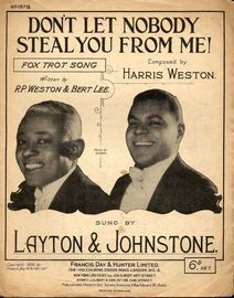 Don't Let Nobody Steal You From Me! - Featuring Layton and Johnstone