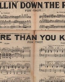 DANCE BAND with Vocals:- (a) More than you know- Fox-Trot, featured in the MGM Musical Film