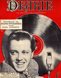 Dearie - Song as performed by  Richard Attenborough, The Five Smith Brothers, Tessie O'Shea, Ted Ray
