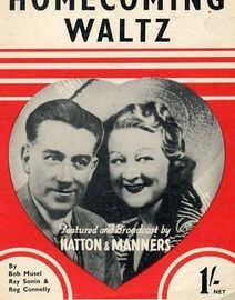 Homecoming Waltz - Featuring Hatton & Manners