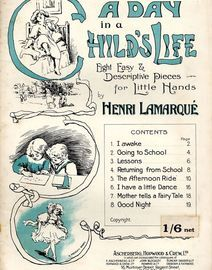 A Day in a Childs Life - Eight Easy & Descriptive Pieces for Little Hands