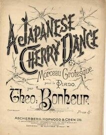 A Japanese Cherry Dance - Morceau Grotesque for Piano Solo