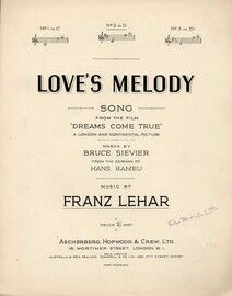 Love's Melody - Song - From the Film