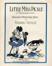 Little Miss Pickle (A Troublesome Study) - Childrens Pianoforte Piece - Paxton edition No. 1630 - The Nursery Series
