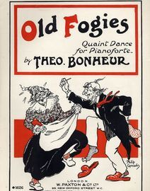 Old Fogies - Quaint Dance for Pianoforte - Paxton edition No. 1626