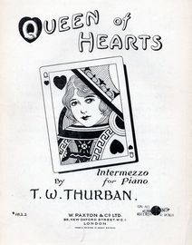 Queen of Hearts - Intermezzo for Piano - Paxton edition No. 1822