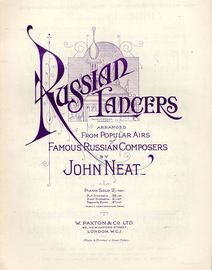 Russian Lancers - Arranged from Popular Airs of Famous Russian Composers