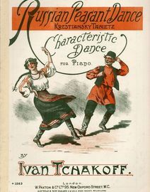 Russian Peasant Dance - Characteristic Dance for Piano - Paxton edition No. 1563