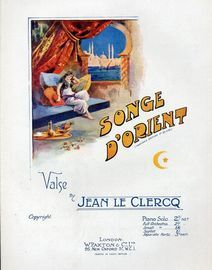 Songe D'Orient - Paxtons Edition No. 50548 - Valse  for Piano Solo