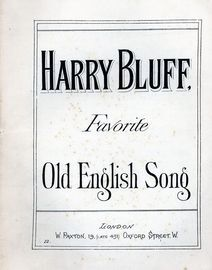 Harry Bluff - Song