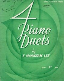 4 Piano Duets - Banks Edition No. 202
