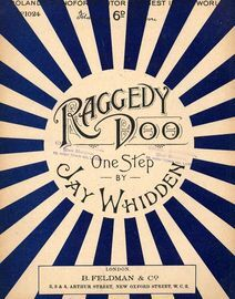 Raggedy Doo - One Step - For Piano Solo - Feldmans 6d edition No. 1024