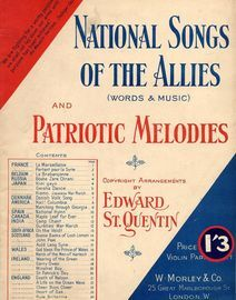 National Songs of the Allies and Patriotic Melodies