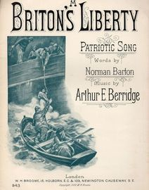 A Briton's Liberty - Patriotic Song - For Piano and Voice