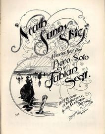 Neath Sunny Skies - A Venetian Boat Song for Piano Solo - Broome Edition No. 927