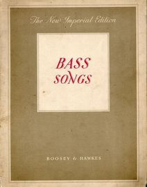 Bass Songs - The New Imperial Edition of Solo Songs - With Piano Accompaniment