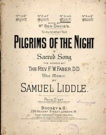 Pilgrims of the Night - Sacred Song with Words - In the Key of G Major - Sung by Mr. Ben Davies to his Brother Ted