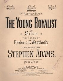The Young Royalist - Song, No.2 in C