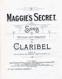 Maggie's Secret - Song - Musical Boquuet No. 9127