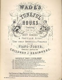 Im Off to Charlestown, O\'er the Hills Bessie & Do They Miss me at Home - Musical Boquuet No. 2309 - Wades Tuneful Hours Series