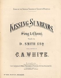 Kissing Sunbeams - Song and Chorus - Musical Boquet No. 4991
