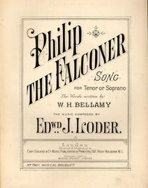Philip the Falconer - Song for Tenor or Soprano - Musical Bouquet No. 7901