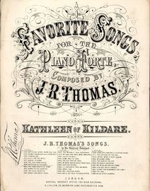Kathleen of Kildare - Favorite Songs for the Piano Musical Bouquet Series No. 1889