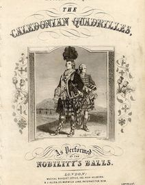 The Caledonian Quadrilles as Performed at the Nobility's Balls - Musical Bouquet Series No. 204